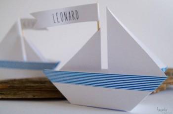 Die Reise des Lebens – Inspirationen für eine maritime Taufdeko