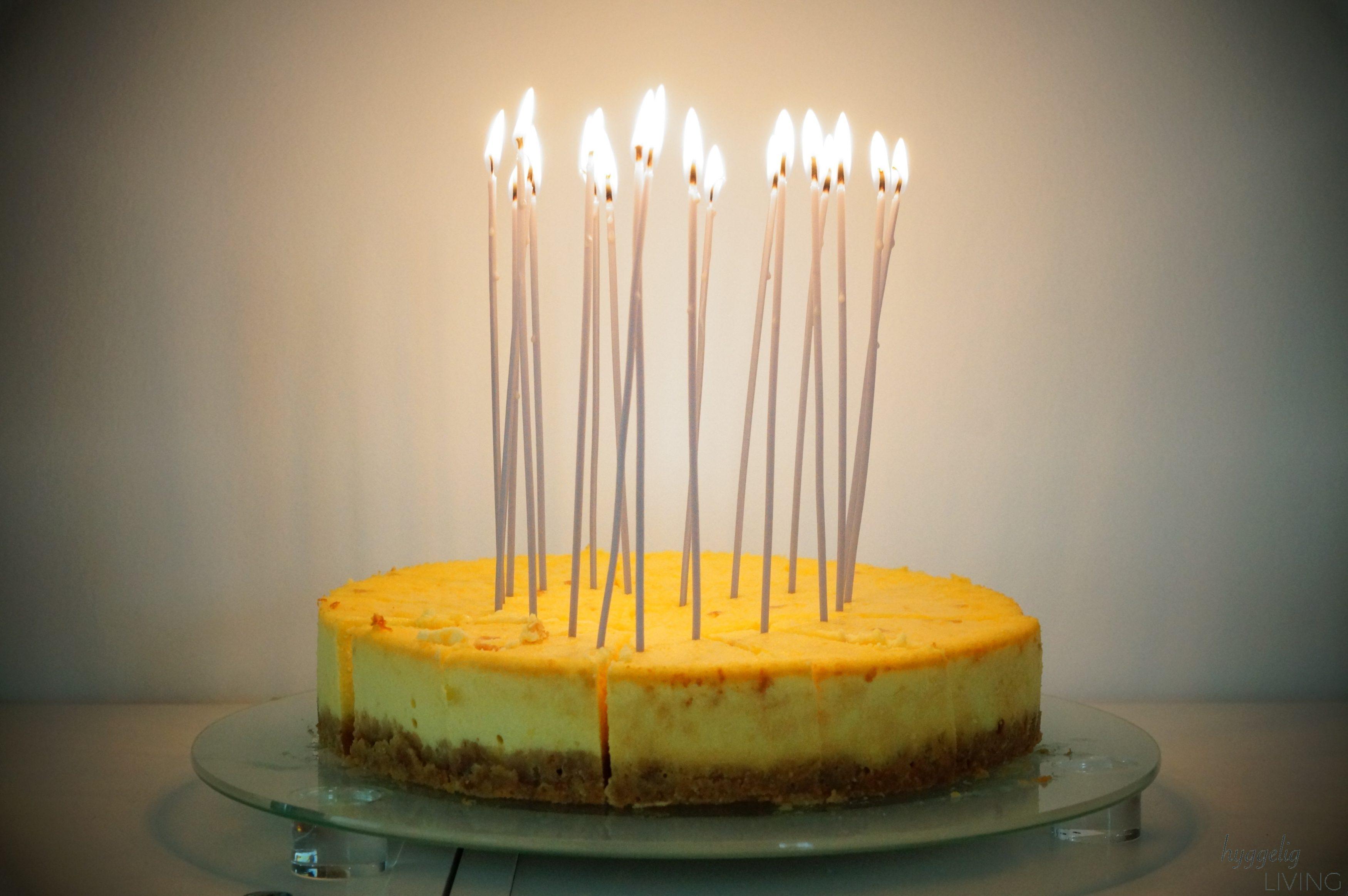 Geburtstagskuchen Kerzen Broste Copenhagen