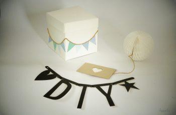 DIY – Geburtstagseinladungen aus der Kiste