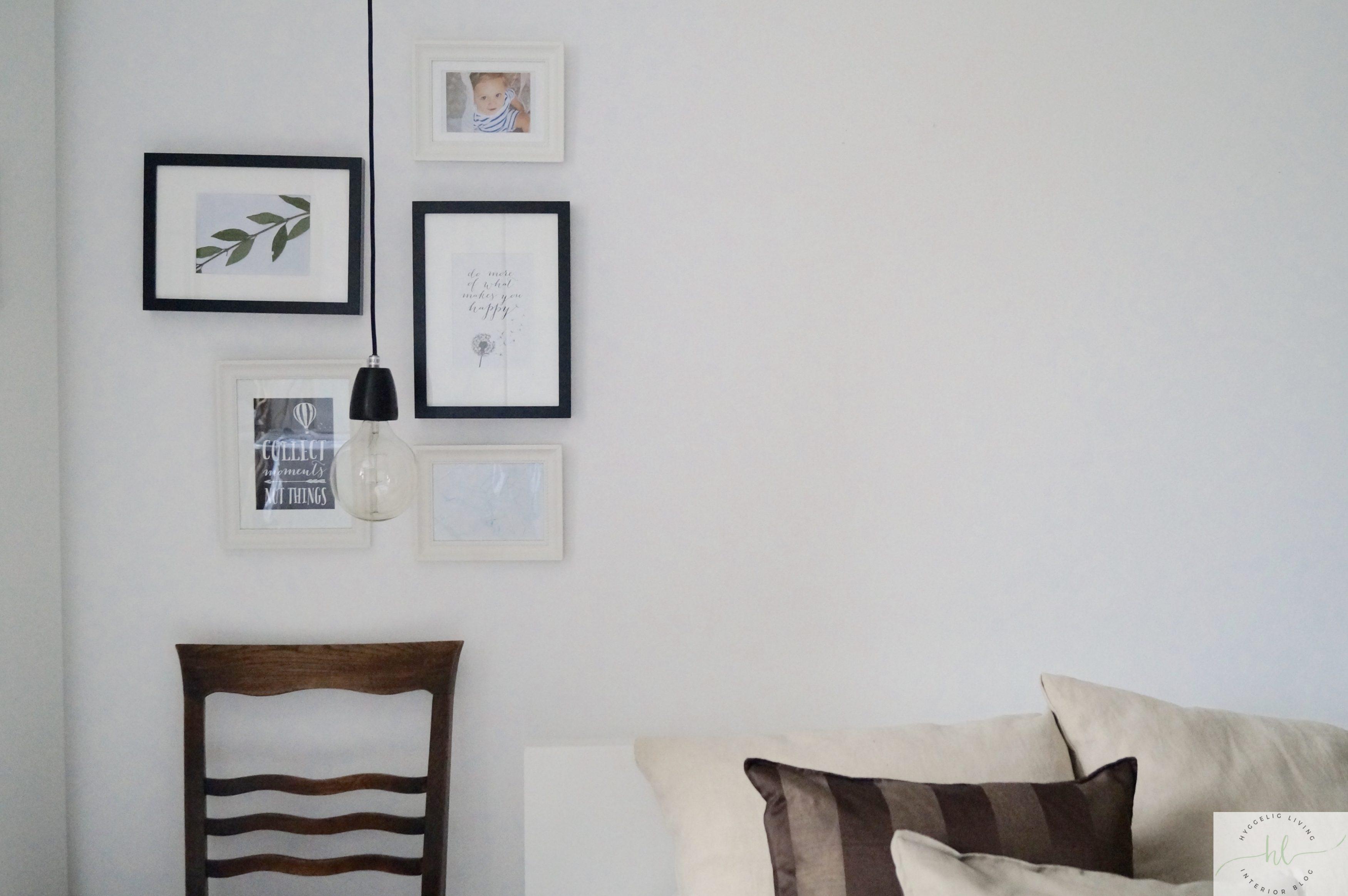 Wandgalerie im Schlafzimmer
