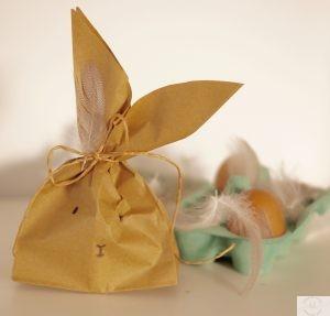 DIY Ostern Ostergeschenk Osterhase aus der Tüte