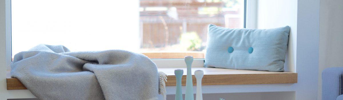 Das Sitzfenster. Mein Ort zum Gucken und Träumen
